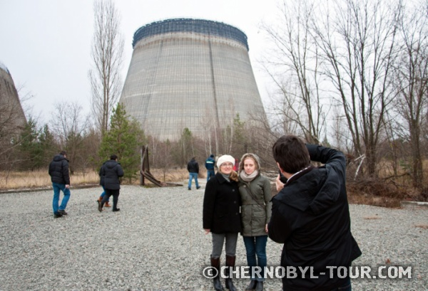 Градирни третьей очереди ЧАЭС - cooling towers